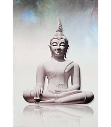 Meditating Buddha Picture