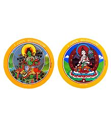 Green Tara and White Tara