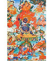 Guru Seng-ge sGra-sgrogs - Poster