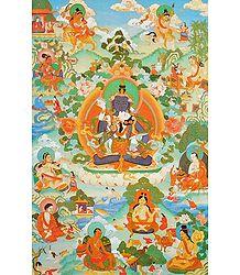 Image of Guru mTsho-skyes rDo-rje