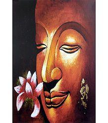 Lotus Offering to Buddha