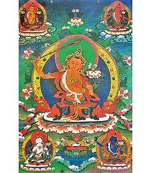 The Five Aspects of Manjushri - Poster