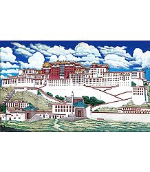 Potala Palace, Lahsa,Tibet - Painting Reprint