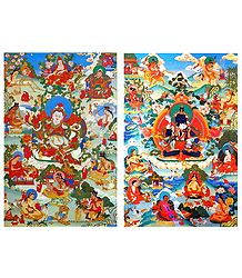 Manifestation of Padmasambhava - Set of 2 Posters