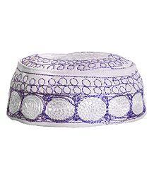 Embroidered Muslim Cap