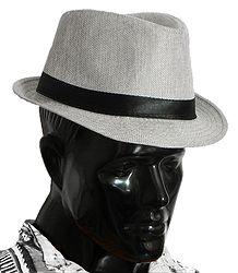 Shop Online Light Grey Fedora Hat