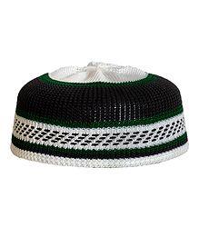 Thread Knitted Muslim Prayer Cap