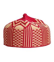 Thread Knitted Muslim Prayer Cap