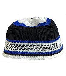 Knitted Thread Muslim Prayer Cap