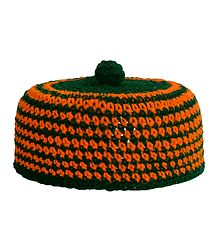 Crocheted Woolen Muslim Prayer Cap