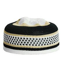 Knitted Muslim Kufi Topi