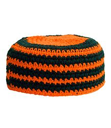 Woolen Muslim Prayer Cap