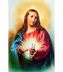 Jesus with Sacred Heart