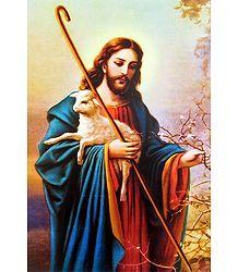 Jesus the Good Shepherd - Poster