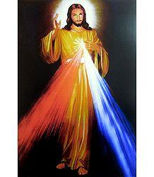 Divine Mercy - Jesus Christ Poster
