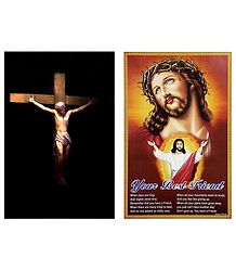 Crucification of Jesus Christ - Set of 2 Posters