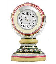 Decorative Marble Table Clock