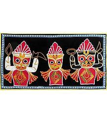 Jagannthdev Balaram Subhadra - Pipli Applique