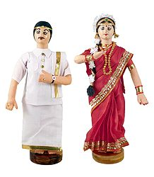 Andhra Bridal Cloth Doll