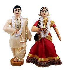 Asamese Bride and Bridegroom