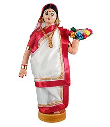 Bengali Costume Doll - Shop Online