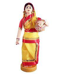 Bengali Lady - Costume Doll