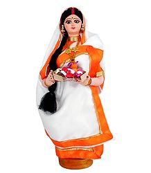 Bengali Lady - Cloth doll