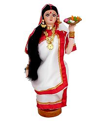 Bengali Pujarini Doll