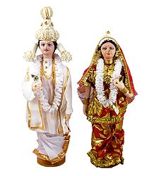 Bengali Bride and Bridegroom