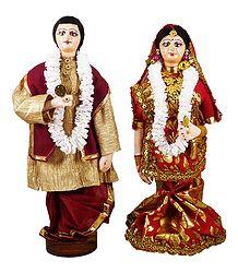 Bengali Bridal Doll