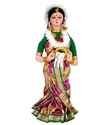 Apsara - Cloth Doll