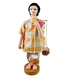 Curd Seller Doll - Online Shop