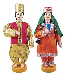 Kashmiri Costume Dolls