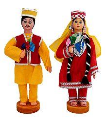 Kashmiri Costume Dolls