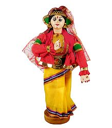 Kathakali Dancer as Mandodari