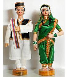 Bridal Couple from Maharashtra