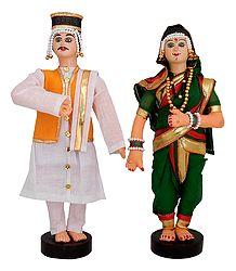 Maharashtrian Bridal Doll