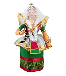 Manipuri Dancer Doll