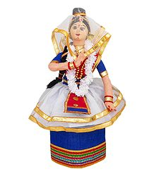 Manipuri Dancer Doll