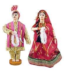 Marwari Bridal Cloth Doll