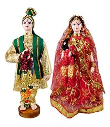 Marwari Bridal Doll