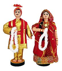 Marwari Bridal Doll from Rajasthan