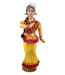 Mohini Attam Dancer from Kerala