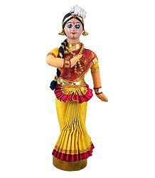 Mohini Attam Dancer from Kerala