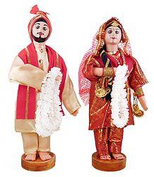 Punjabi Bridal Doll