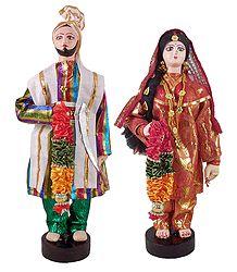 Buy Online Punjabi Bridal Doll
