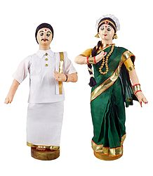 Tamil Bride and Bridegroom