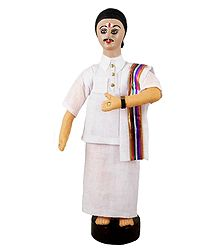 Tamil Man - Cloth Doll