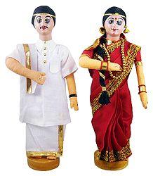 Andhra Bridal Doll