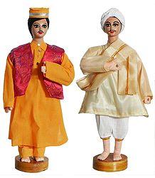 Village Merchants - Cloth Dolls